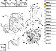 Tensor da Correia do Alternador - Ar ou Direcao Hidraulica