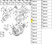 Tensor da Correia do Alternador / Medida 60x27x8