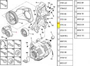 575161-Tensor do Tensionador da Correia do Alternador / Medida 17x65x25